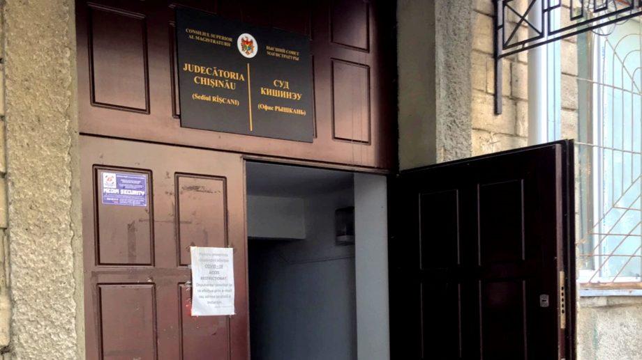 Judecătoria din sectorul Râșcani va activa într-un regim special, după ce un angajat a fost diagnosticat cu COVID-19