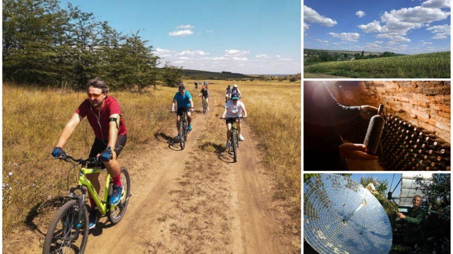 (foto) Priveliști minunate și emoții adevărate. Redescoperă Moldova prin traseul unic de ciclism din sudul țării