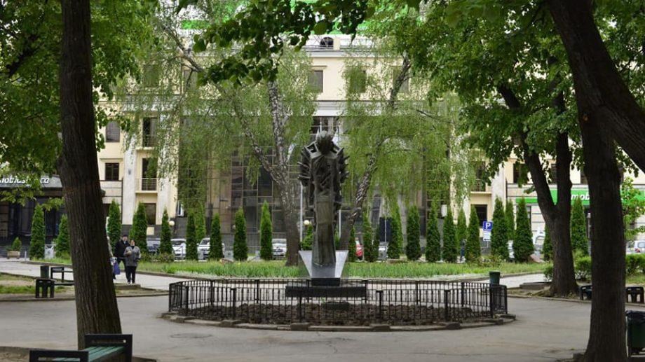 """(foto) Cum va arăta scuarul """"Mihai Eminescu"""" din centrul Capitalei după renovare"""