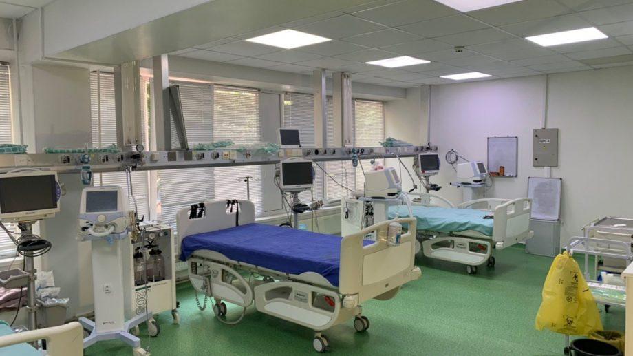 """(foto) De astăzi, este activată o nouă unitate medicală pentru tratarea pacienților cu COVID-19 la spitalul """"Sfânta Treime"""""""