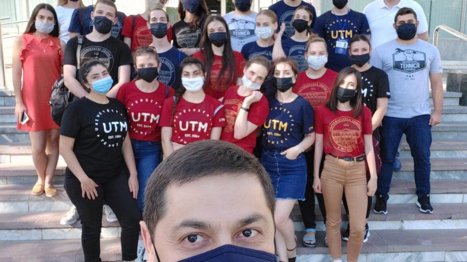 """Administrația UTM: """"Mulțumim celor 21 de studenți care s-au implicat plenar în activitatea Comisiei de admitere"""""""