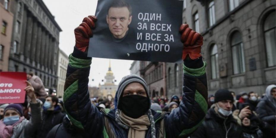 """Susținătorii lui Aleksei Navalnîi sunt chemați la un protest pașnic în data de 21 aprilie. """"Viața lui depinde de voi"""""""