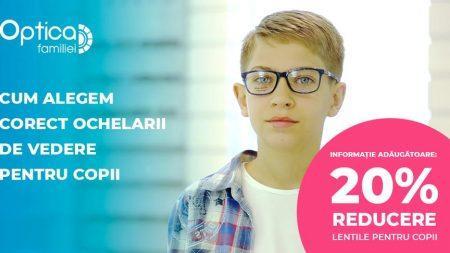 Cum alegem corect ochelarii de vedere pentru copii